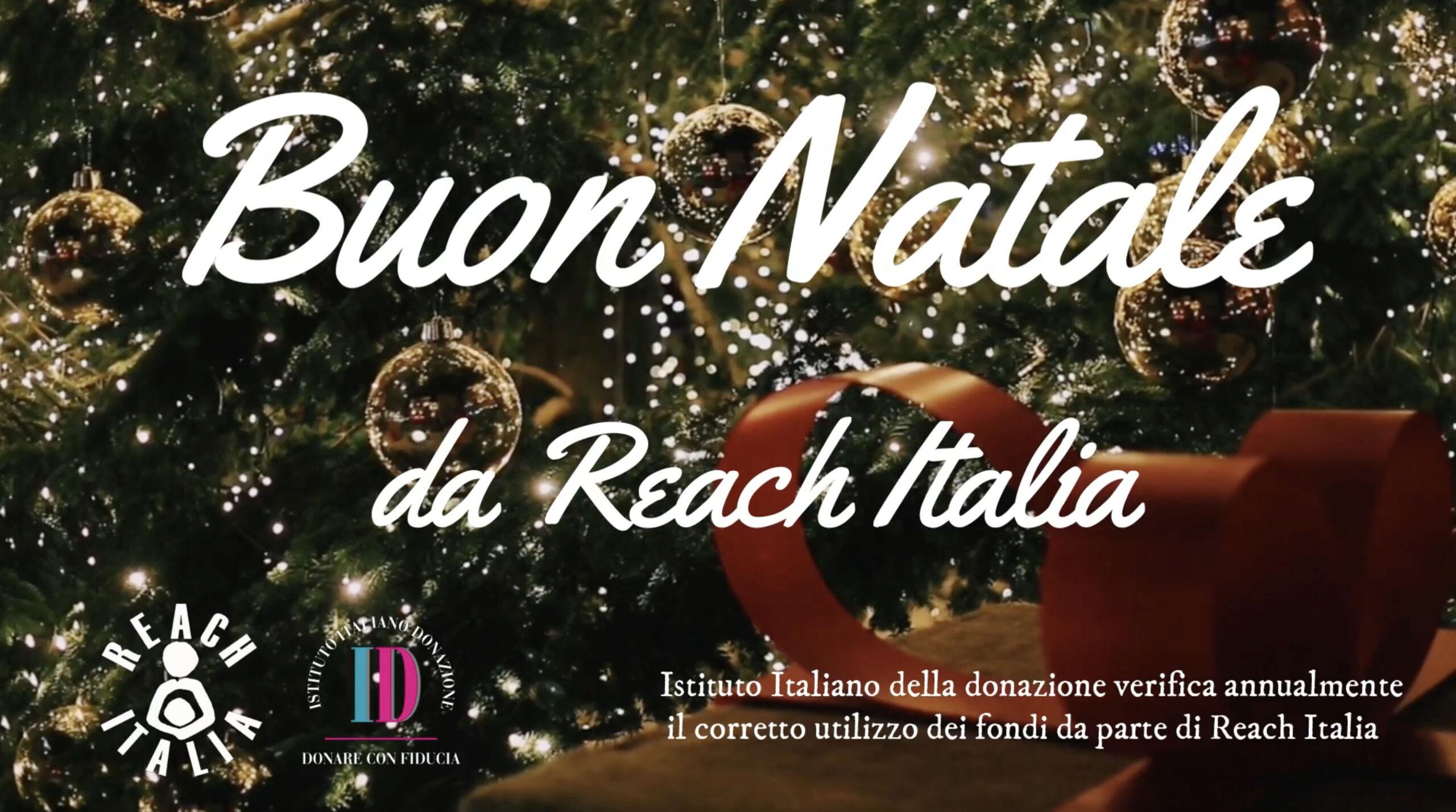 Buon Natale Italia.Buona Natale Da Reach Italia Reach Italia